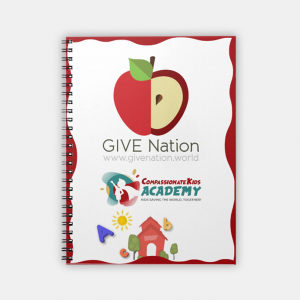 GIVE Nation Spiral Notebook (80 Pages)